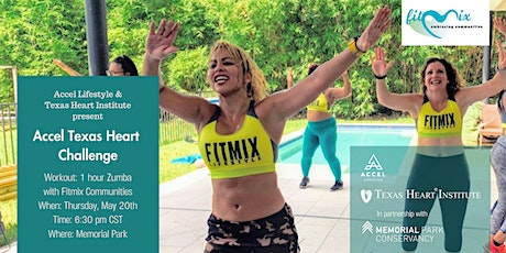 Accel Texas Heart Challenge with Fitmix Communities tickets