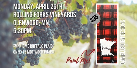 ROLLING FORKS VINEYARDS  | MN HOME BUFFALO PLAID tickets