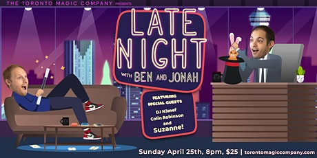 Late Night with Ben and Jonah Tickets