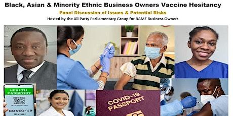 Impact of Vaccine Hesitancy on Minority Business tickets