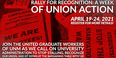 Rally for Recognition: A Week of Union Action tickets