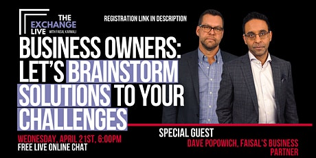 The Exchange Live [ONLINE] - Let's Brainstorm Solutions To Your Challenges tickets