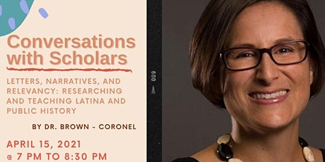 Conversations with Scholars with Dr. Margie Brown-Coronel tickets