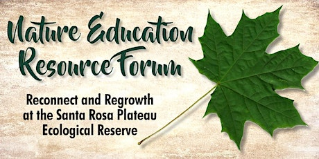 Nature Education Resource Forum tickets