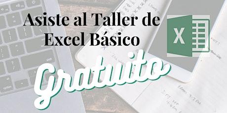 Taller Excel Empresarial Básico Gratuito boletos