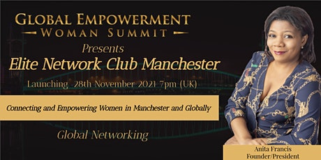ELITE NETWORK CLUB MANCHESTER LAUNCH tickets