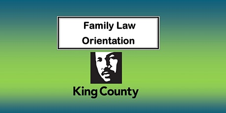 Family Law Orientation - Email only tickets