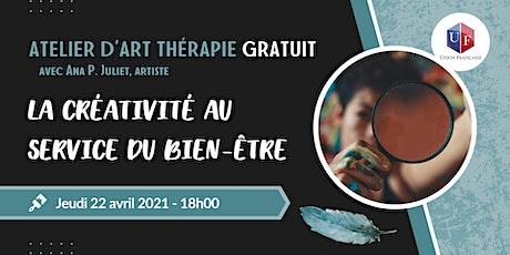 La créativité au service du bien-être - Atelier d'art thérapie billets