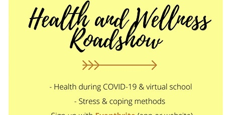 Online Roadshow: Health  & Wellness - building a safe space for everyone tickets