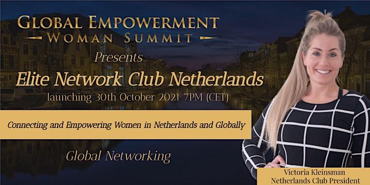 ELITE NETWORK CLUB NETHERLANDS LAUNCH image