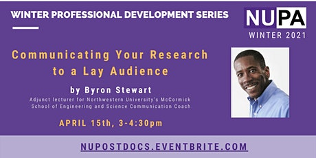 Communicating Your Research to a Lay Audience tickets