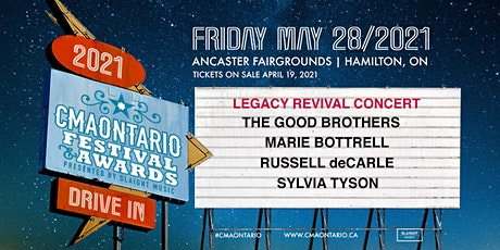 CMAOntario Festival - Legacy Revival Drive-In Concert tickets