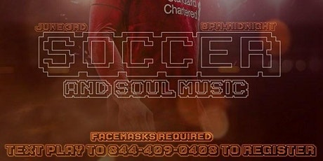 Soccer and Soul Music tickets