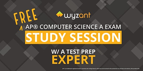 FREE Computer Science A Study Session tickets
