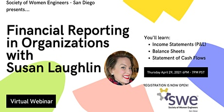 Financial Reporting in Organizations with Susan Laughlin tickets