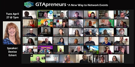 "GTApreneurs Evening Online Afternoon Event - ""Beat That Stress!"" tickets"