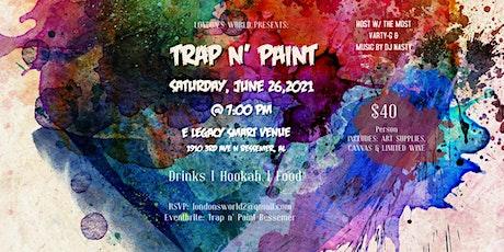 Trap n' Paint Bessemer tickets