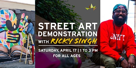 Street Art Demonstration with Ricky Singh tickets