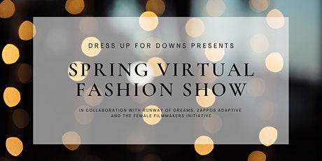 Dress Up for Downs Spring Virtual Show tickets