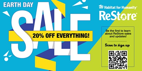 Chesapeake ReStore's Annual Earth Day Sale- 20% Off EVERYTHING! tickets