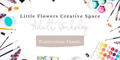 Watercolour Florals For Beginners tickets