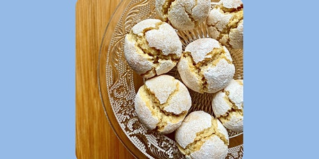 ONLINE Italian Amaretti (gluten free) - cooking class with Madebyflour tickets