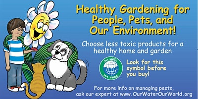 Non-Toxic Pest Management for the Garden & Home