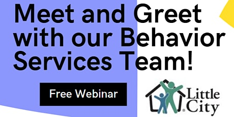 Meet and Greet with our In-Home Behavior Services Team! tickets