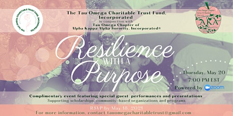 Resilience with a Purpose Reservations tickets