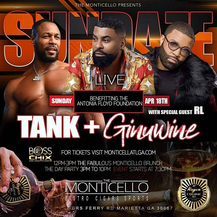 """APRIL 18TH TANK & GINUWINE LIVE BENEFITING """"THE ANTONIA FLOYD FUNDRAISER"""" image"""