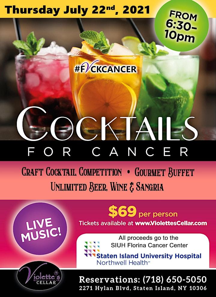 Cocktails For Cancer image
