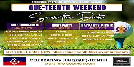 Que-Teenth Weekend tickets