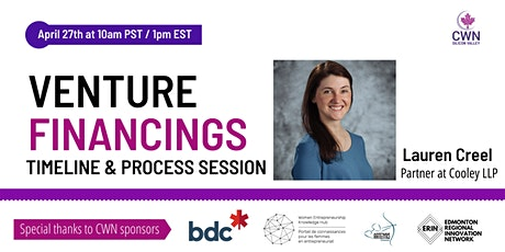 Fundraising Readiness series:VENTURE FINANCINGS: Timeline & Process session tickets