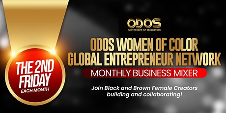 ODOS  Women of Color  Global Entrepreneur Network tickets