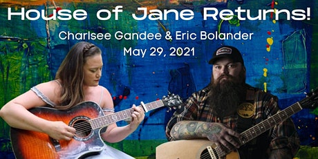 Eric Bolander and Charlsee Gandee at House of Jane Songwriter Sessions tickets