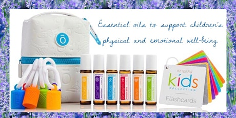 Using essential oils to support children's physical and emotional wellbeing tickets