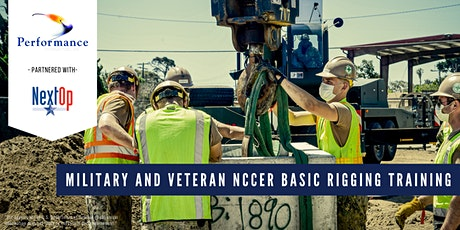 Performance Contractors, Inc. Military Veteran NCCER Basic Rigging Training tickets