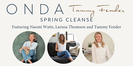 ONDA Beauty x Tammy Fender Masterclass | Spring Cleanse Refresh tickets
