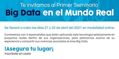 Primer Seminario Big Data tickets