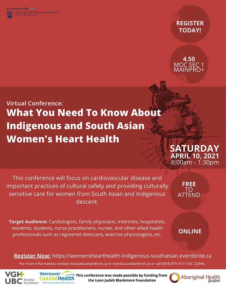 What You Need to Know About Indigenous and South Asian Women's Heart Health image
