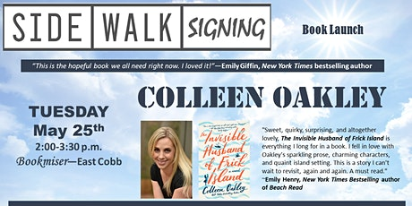 Sidewalk Signing: Author COLLEEN OAKLEY Launches Her New Novel tickets