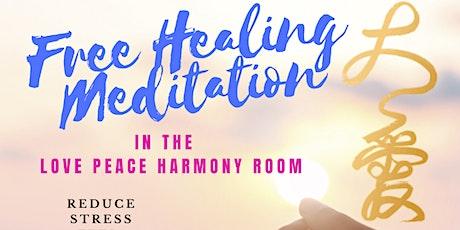 Copy of Love Peace Harmony Room Free Meditation tickets