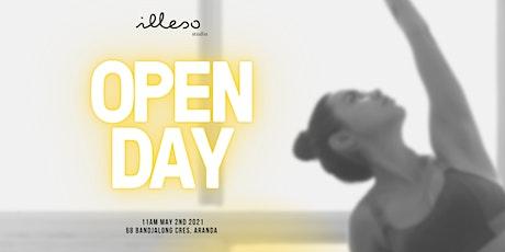 ILLESO STUDIO OPEN DAY tickets