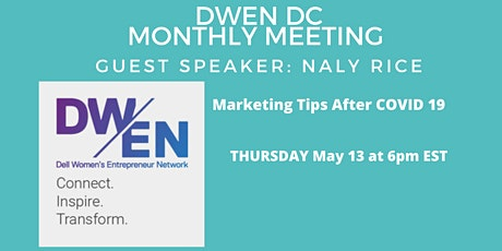 DWEN DC Chapter Monthly Meeting tickets