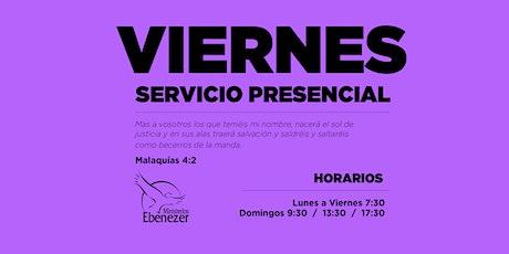 VIERNES 23 ABRIL / 19:30 tickets