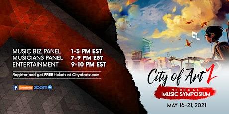 City of ArtZ Virtual Music Symposium tickets