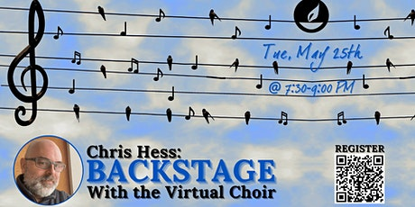 Backstage with the Virtual Choir with Chris Hess tickets