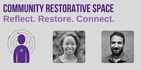 Community Restorative Space: SEE Change tickets