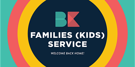Sunday Families Service - (KIDS) 8AM tickets