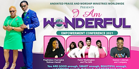 """""""I AM Wonderful"""" Empowerment Conference tickets"""
